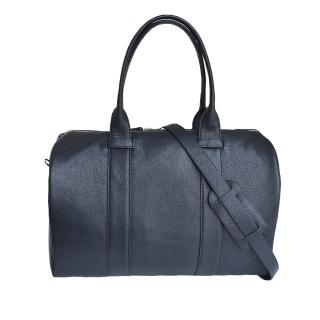 Кожаная дорожная сумка - DarkBlue